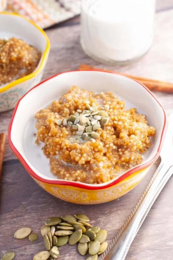 Instant Pot Pumpkin Quinoa Porridge