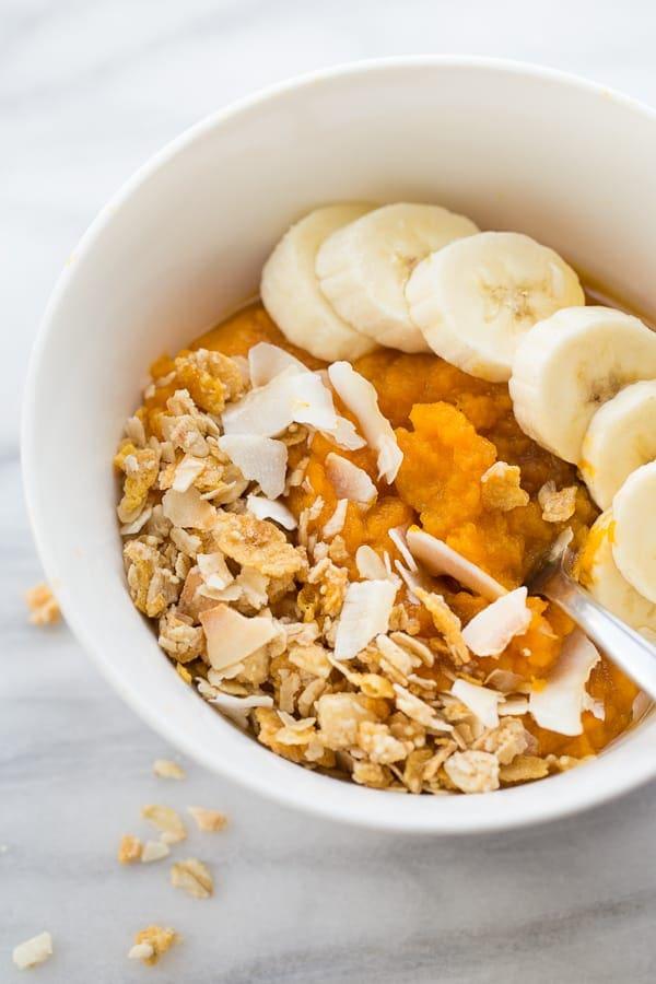 Instant Pot Sweet Potato Breakfast Bowls
