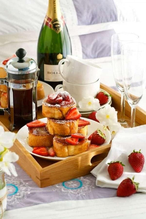 Mini Strawberry French Toast