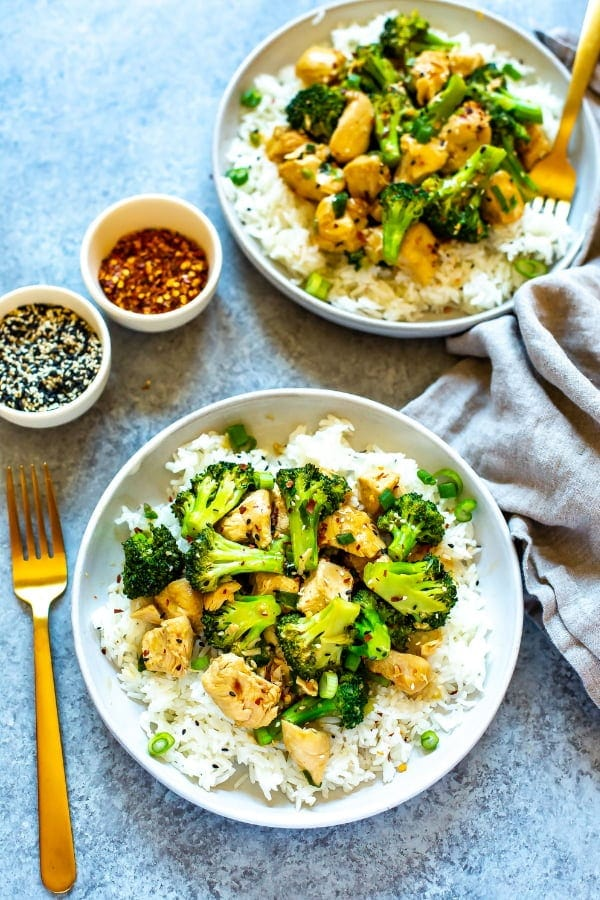 Instant Pot Chinese Chicken and Broccoli